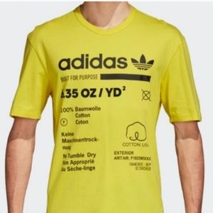 Nwt Mens Adidas Kaval Graphic Tee Size Xlarge